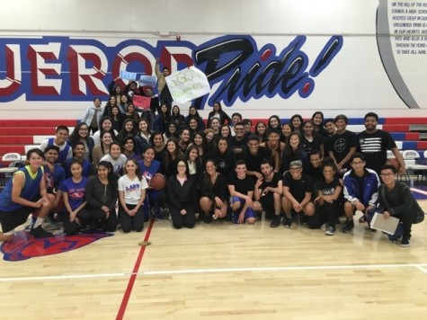ASB and Renaissance shake off stress in basketball game