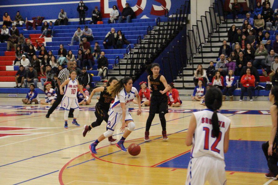 Espinoza Stars in the Lady Conquerors OT Win