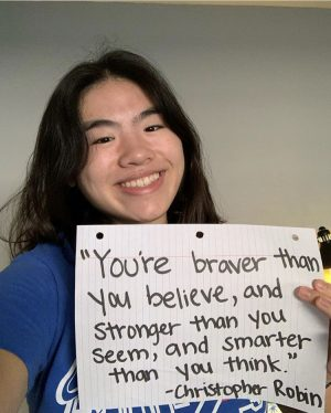 Sophomore Fiona Ngo shares her favorite quotes to inspire and uplift followers.
