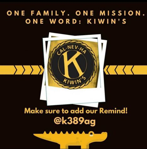 The official slogan and Remind code for KIWINS, @los.atos.kiwins on Instagram.