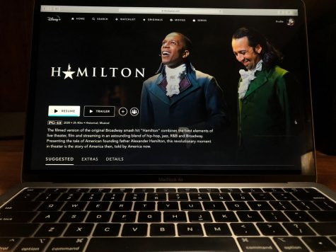At-home theatre experiences are as simple as an open laptop and the music of Hamilton filling the room.