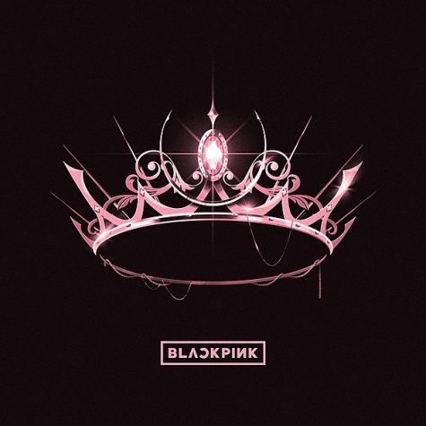 "Blackpink's new album ""The Album"" features a pink crown on the cover, matching the simplicity of the title yet the intensity of the music. Photo courtesy of Wikimedia Commons"